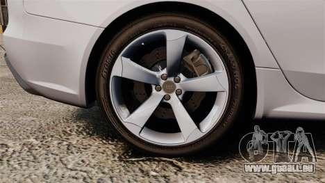 Audi RS4 Avant 2013 Sport v2.0 für GTA 4 Rückansicht