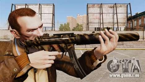 MP5SD mitraillette v7 pour GTA 4