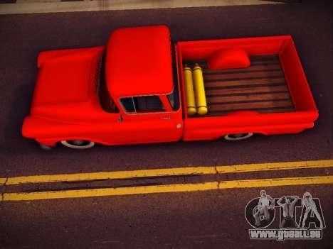 Chevrolet Apache pour GTA San Andreas vue de droite
