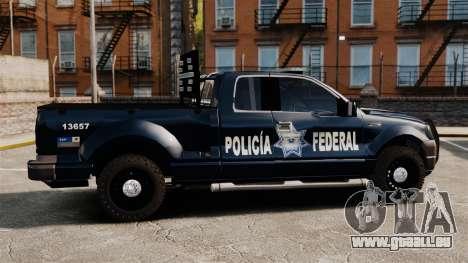 Ford F-150 De La Policia Federal [ELS & EPM] v3 pour GTA 4 est une gauche