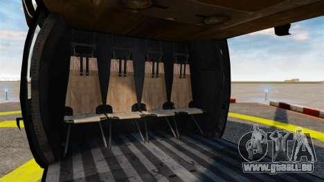 Sikorsky MH-60L Black Hawk für GTA 4 Seitenansicht