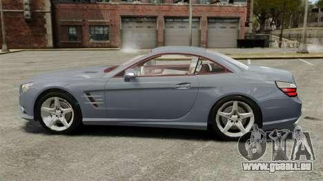 Mercedes-Benz SL500 2013 pour GTA 4 est une gauche