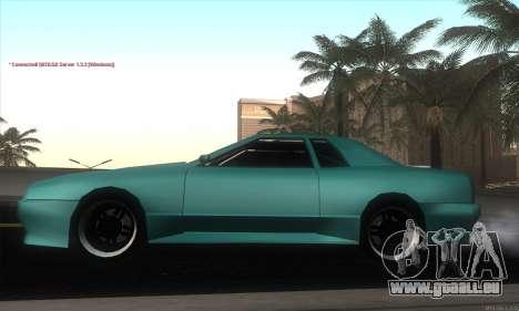 Elegy Edit pour GTA San Andreas laissé vue