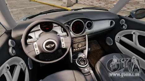 Mini Cooper S 2008 v2.0 für GTA 4 Innenansicht