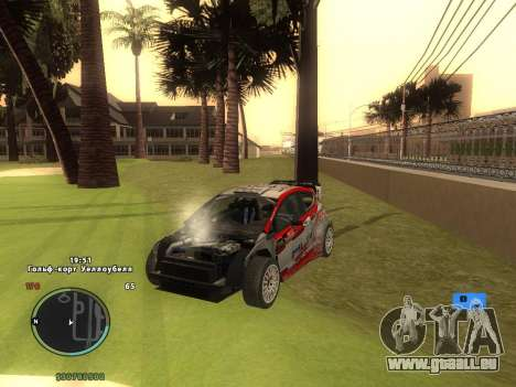Ford Fiesta RS WRC pour GTA San Andreas vue de côté
