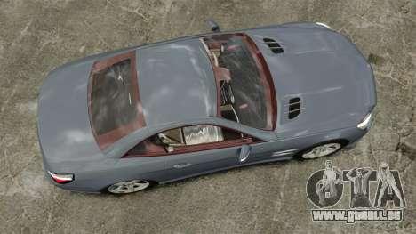 Mercedes-Benz SL500 2013 für GTA 4 rechte Ansicht