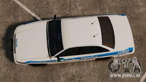 Montreal Polizei v1 für GTA 4 rechte Ansicht