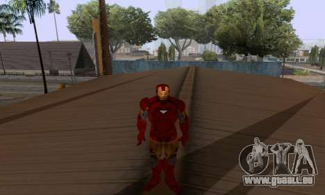 Skins Pack - Iron man 3 pour GTA San Andreas