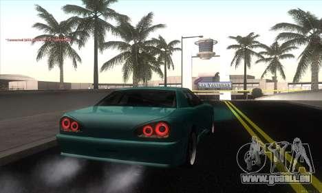 Elegy Edit pour GTA San Andreas sur la vue arrière gauche