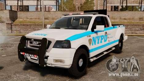 Ford F-150 v3.3 NYPD [ELS & EPM] v1 pour GTA 4
