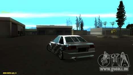Toyota AE86 pour GTA San Andreas vue arrière