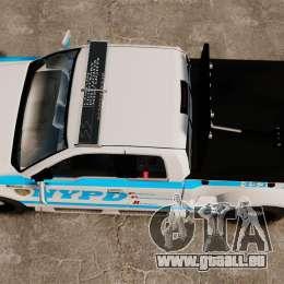 Ford F-150 v3.3 NYPD [ELS & EPM] v2 für GTA 4 rechte Ansicht