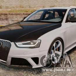 Audi RS4 Avant 2013 Sport v2.0 pour GTA 4