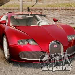 Bugatti Veyron 16.4 pour GTA 4