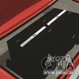 VAZ-2107 pour GTA 4 est un côté