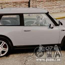 Mini Cooper S 2008 v2.0 für GTA 4 linke Ansicht