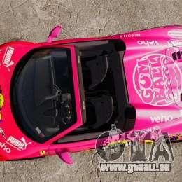 Ferrari 458 Spider Pink Pistol 027 Gumball 3000 pour GTA 4 est un droit