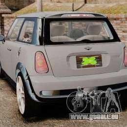 Mini Cooper S 2008 v2.0 für GTA 4 hinten links Ansicht