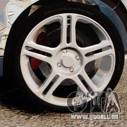 Mini Cooper S 2008 v2.0 für GTA 4 Rückansicht