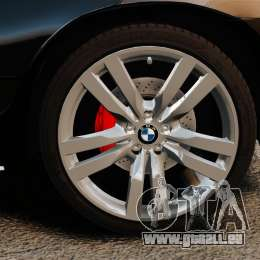 BMW X5 4.8iS v1 für GTA 4 Rückansicht