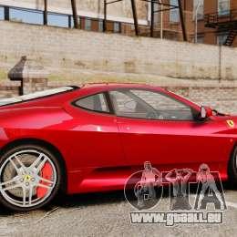 Ferrari F430 2005 pour GTA 4 est une gauche