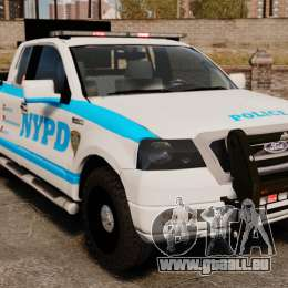 Ford F-150 v3.3 NYPD [ELS & EPM] v2 für GTA 4