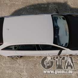 Audi RS4 Avant 2013 Sport v2.0 pour GTA 4 est un droit