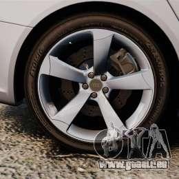 Audi RS4 Avant 2013 Sport v2.0 pour GTA 4 Vue arrière