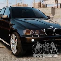 BMW X5 4.8iS v1 pour GTA 4