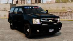 Chevrolet Tahoe 2008 Unmarked ELS für GTA 4
