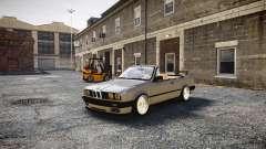 BMW M3 E30 Cabrio Stanced