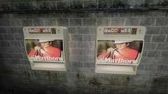 Neue Automaten Zigaretten zu verkaufen