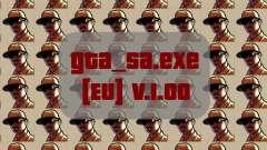 Original Datei gta_sa.exe [EU] v. 1.00 für GTA San Andreas