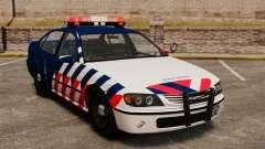 Der niederländische Militärpolizei