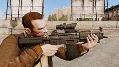 Le fusil d'assaut SIG 552
