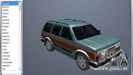 GTA Garage Mod Manager version 1.7 (270805) pour GTA San Andreas