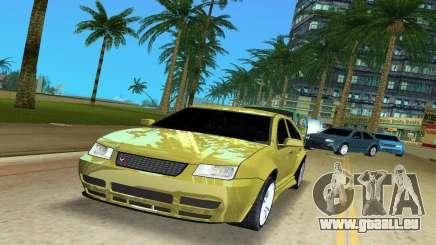 Volkswagen Bora pour GTA Vice City