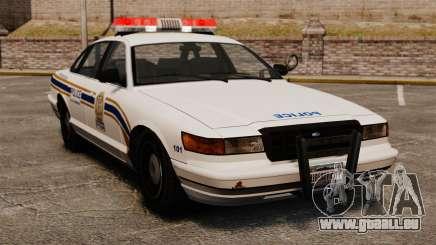 Polizei In Sherbrooke für GTA 4