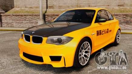 BMW 1M Coupe 2011 Fujiwara Tofu Shop Sticker pour GTA 4