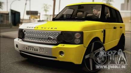 Land Rover Range Rover Gold Vossen für GTA San Andreas