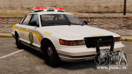 Québec de police pour GTA 4