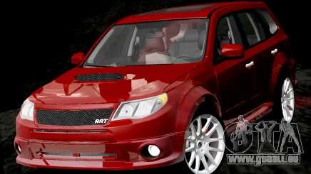 Subaru Forester RRT Sport 2008 v2.0 pour GTA San Andreas