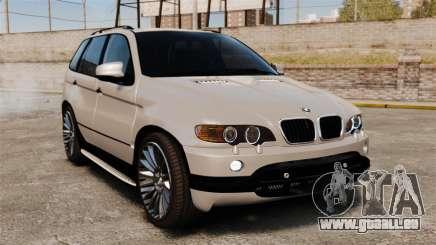 BMW X5 4.8iS v2 pour GTA 4