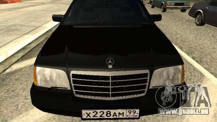 Mercedes-Benz w140 s600 pour GTA San Andreas