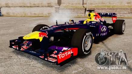 Voiture, Red Bull RB9 v4 pour GTA 4