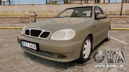 Daewoo Lanos FL 2001 pour GTA 4