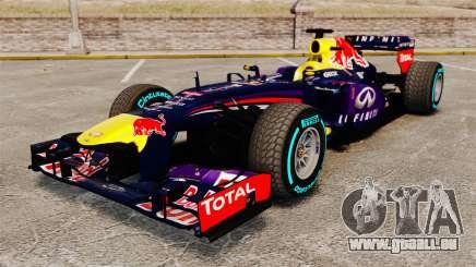 Voiture, Red Bull RB9 v1 pour GTA 4