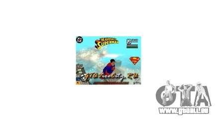 Mod Superman San Andreas pour GTA San Andreas