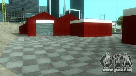 Neue Garage in Doherty für GTA San Andreas her Screenshot