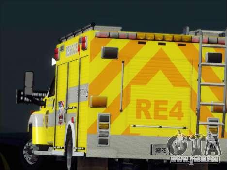 GMC C4500 Topkick BCFD Rescue 4 für GTA San Andreas Räder
